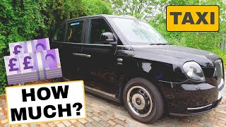 I spend £16780.72 a year to drive a London taxi!