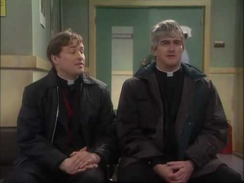 father ted s01e02 entertaining father stone part 2. Black Bedroom Furniture Sets. Home Design Ideas