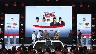 Pernyataan Penutup Jokowi-Ma'ruf dan Prabowo-Sandi di Debat Final Pilpres 2019