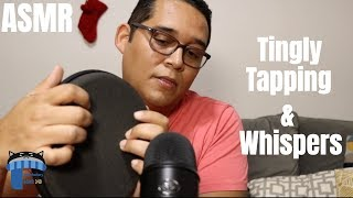 ASMR Relaxing Tingly Tapping & Whispers