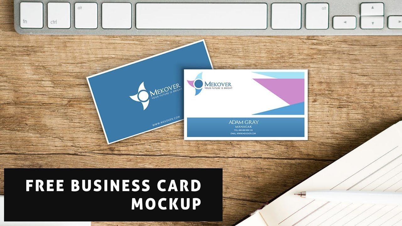 Free business card mockup psd download youtube free business card mockup psd download colourmoves