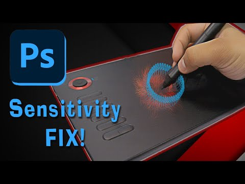 How to FIX Pen Pressure not working in Adobe Photoshop | Works in Every version of Adobe Photoshop