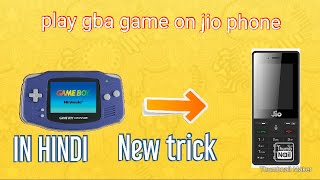 How to play gba games in jio phone without omni sd