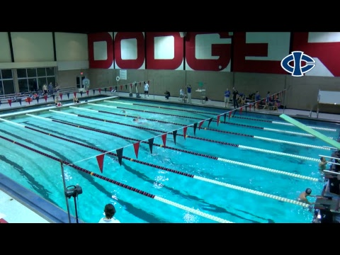 Men's and Women's Swimming: Iowa Central vs. Iowa Lakes (10/06/2017)