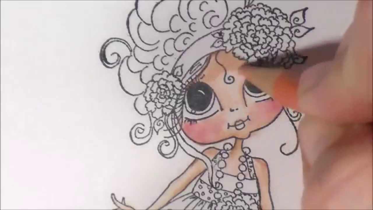 Basic Coloring with Pencils and Gamsol- Part 1: Skin - YouTube