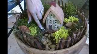 How To Make A Fairy Garden - Joni Hilton