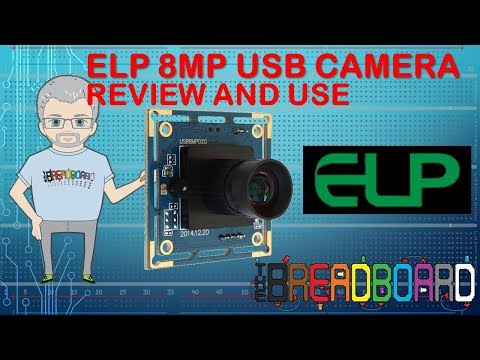 ELP 8MP USB industry Camera review