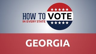 How to Vote in Georgia in 2018