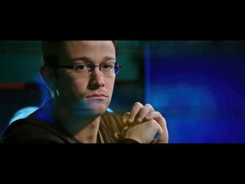 Snowden Movie - Edward Snowden Takes NSA Files Scene