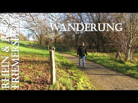 Wanderung Friemersheim in den Rheinauen an Rhein & Roos
