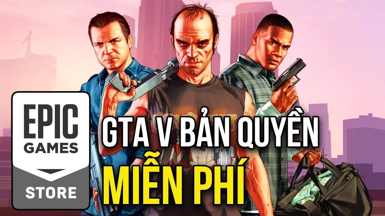HƯỚNG DẪN TẢI GTA V BẢN QUYỀN MIỄN PHÍ TRÊN EPIC STORE !!!
