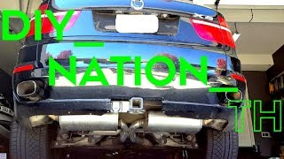 BMW X5 Exhaust Sound: E70, 4.8I, V8, Cold Start, Straight Pipes with Mustang GT500 Mufflers