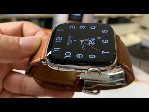 Khui Hộp đồng Hồ Thông Minh Apple Watch Series 4 Hermès