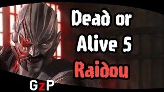 Dead or Alive 5 - Raidou last round trailer - PS3 PS4 X360 XOne