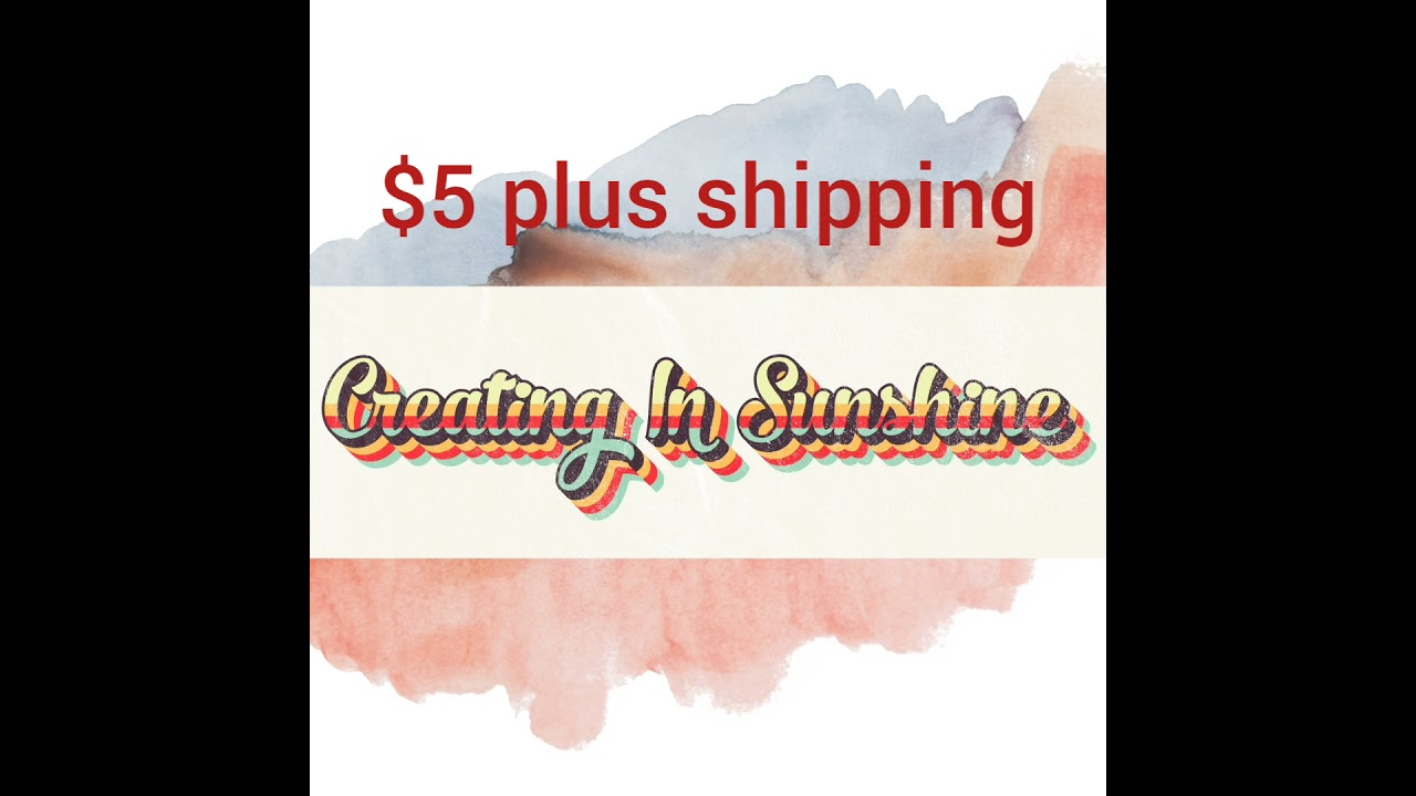 May Embellishments Kit For Sale In My Etsy Shop Markets of  Sunshine $5