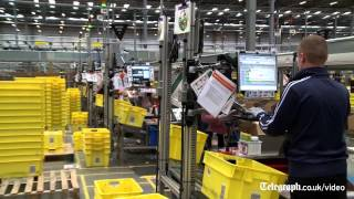 Behind the scenes at Amazon's Black Friday