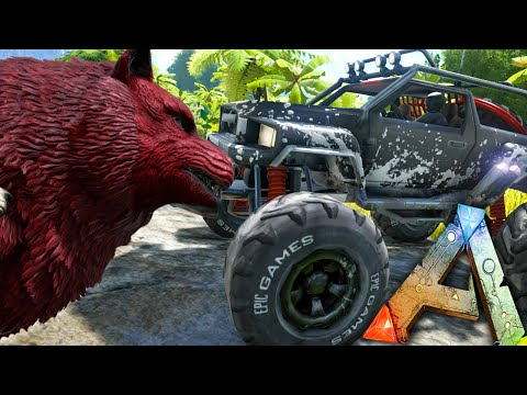 ARK Survival Evolved - BUGGY UPDATES, MEGA WOLF, ARMORED SPINO, MORE! - Gameplay