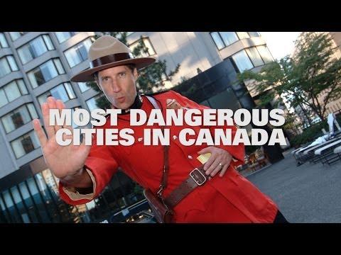 Top Ten Most Dangerous Cities in Canada 2013