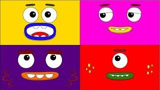 Big Block Sing Song Quatro Coloring Book - The Color Song - Puzzle Kid