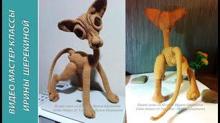 Кот Сфинкс, ч.1.  Sphynx Cat, р. 1.  Amigurumi. Crochet.