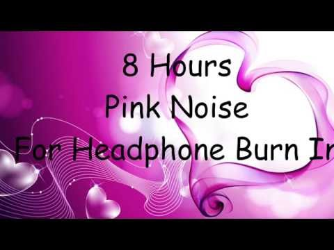Pink Noise - 8 Hours Burn In Track 1/3