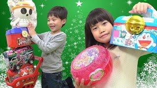 クリスマス お菓子屋さん お楽しみボックス こうくんねみちゃん Christmas Candy Shop characters Box thumbnail