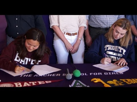Archer School For Girls - National Letter Of Intent Signing Day 2018