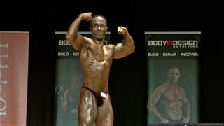 JB's Bodybuilding Contest Best Presentation winning Routine