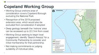 DELIVERING A DEEP NUCLEAR DUMP: RWM Presentation to South Copeland Partnership Dec 2020