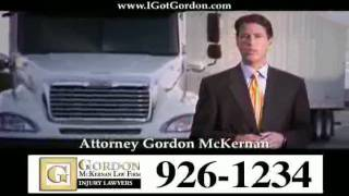 Louisiana Big Truck Attorney - Gordon McKernan - Car Wrecks