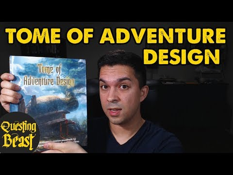 Tome Of Adventure Design: OSR DnD Toolkit Review