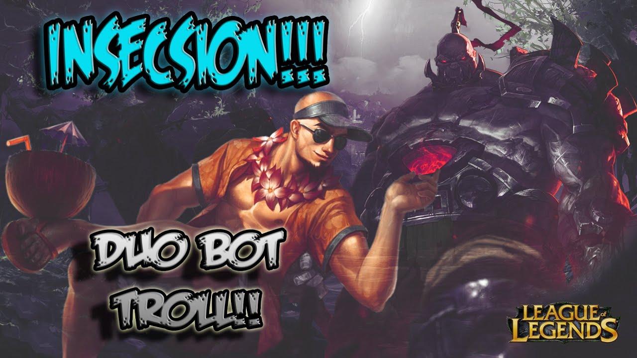 Duo Bot Troll | Sion, Lee Sin | Jugadas koreanas!!!