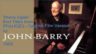 JOHN BARRY  'Frances' End Titles Original Film Version 1982