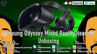 SE05EP74: Samsung Odyssey Mixed Reality Headset Unboxing Pt1 1