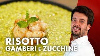 Risotto gamberi e zucchine di Antonino Cannavacciuolo *ADDÍOS*