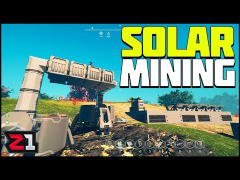 Bigger Base Building and Solar Mining ! Planet Nomads Gameplay | Z1 Gaming