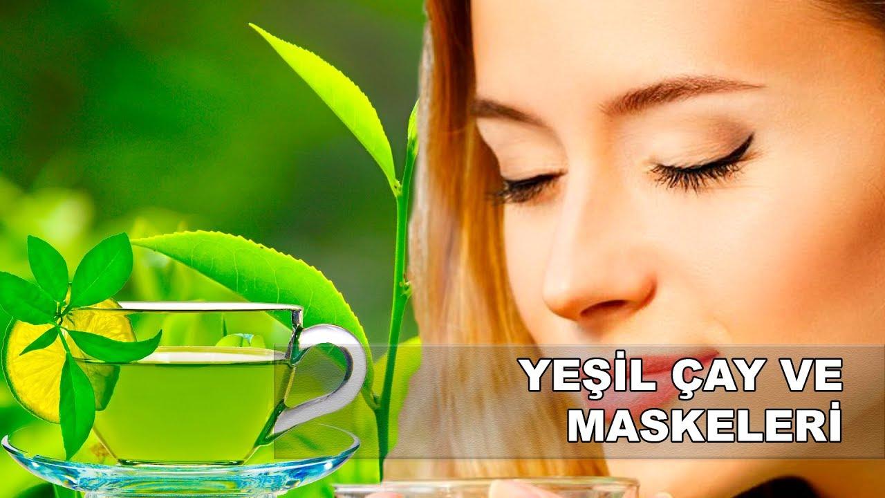Yeşil çaylı cilt maskesi tarifi
