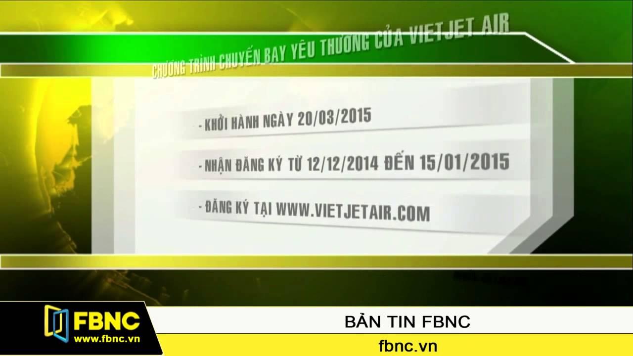 Vietjet Air công bố chuyến bay miễn phí từ Đài Bắc về TP.HCM