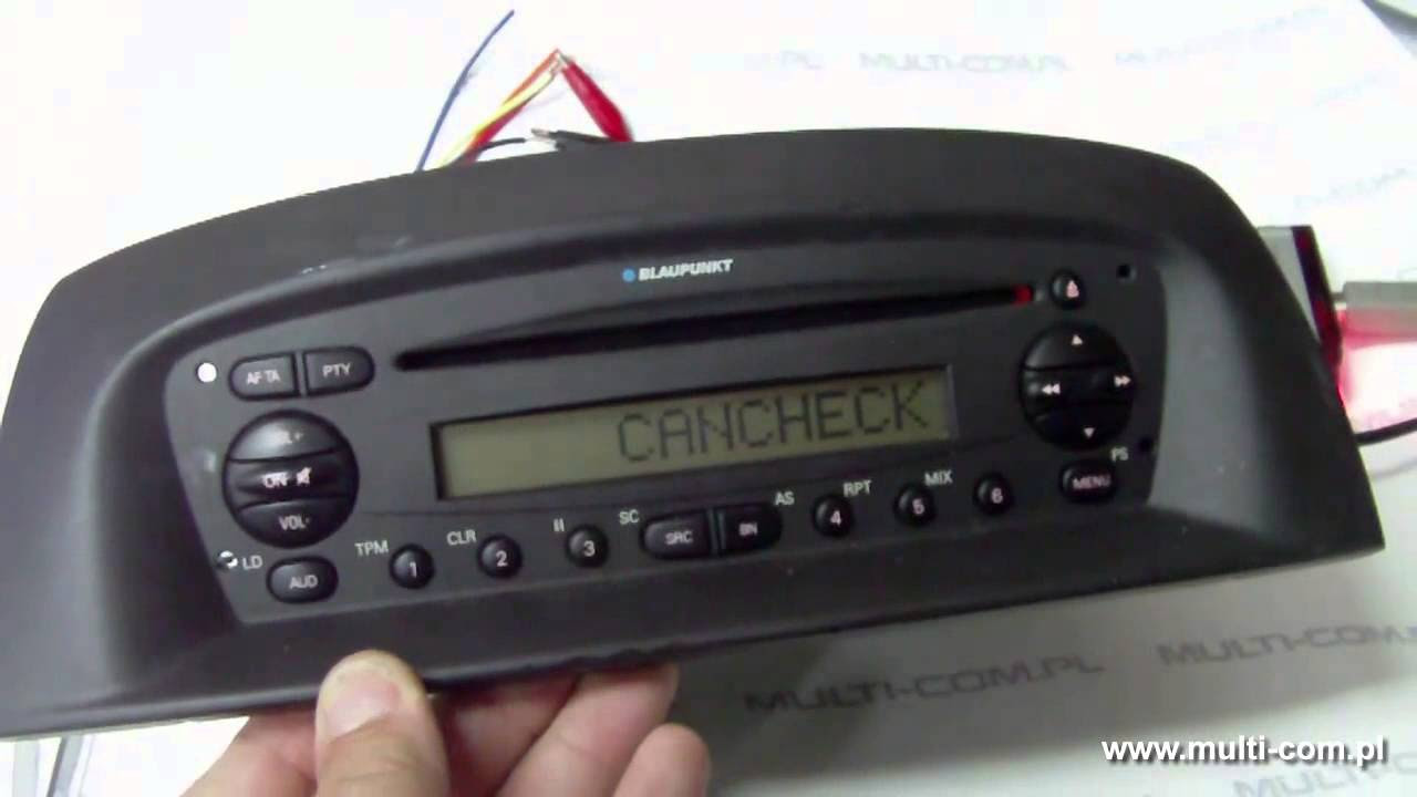 Resetting cancheck via cable BP-BUS for Martech Box III