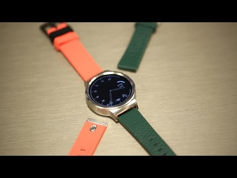 Google's new MODE bands for Android Wear watches swap out easy