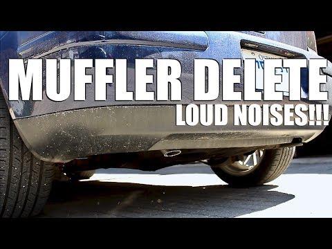 How to do a Muffler Delete