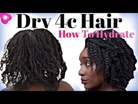 Best MOISTURIZER For Dry 4C NATURAL HAIR | Hydrate & Retain Moisture