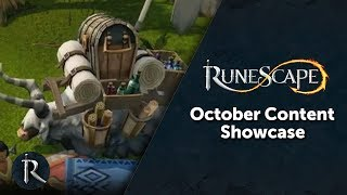 RuneScape Content Showcase - October 2017