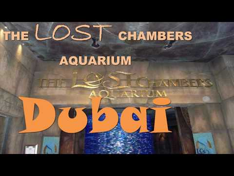 Lost Chambers Aquarium Dubai HD