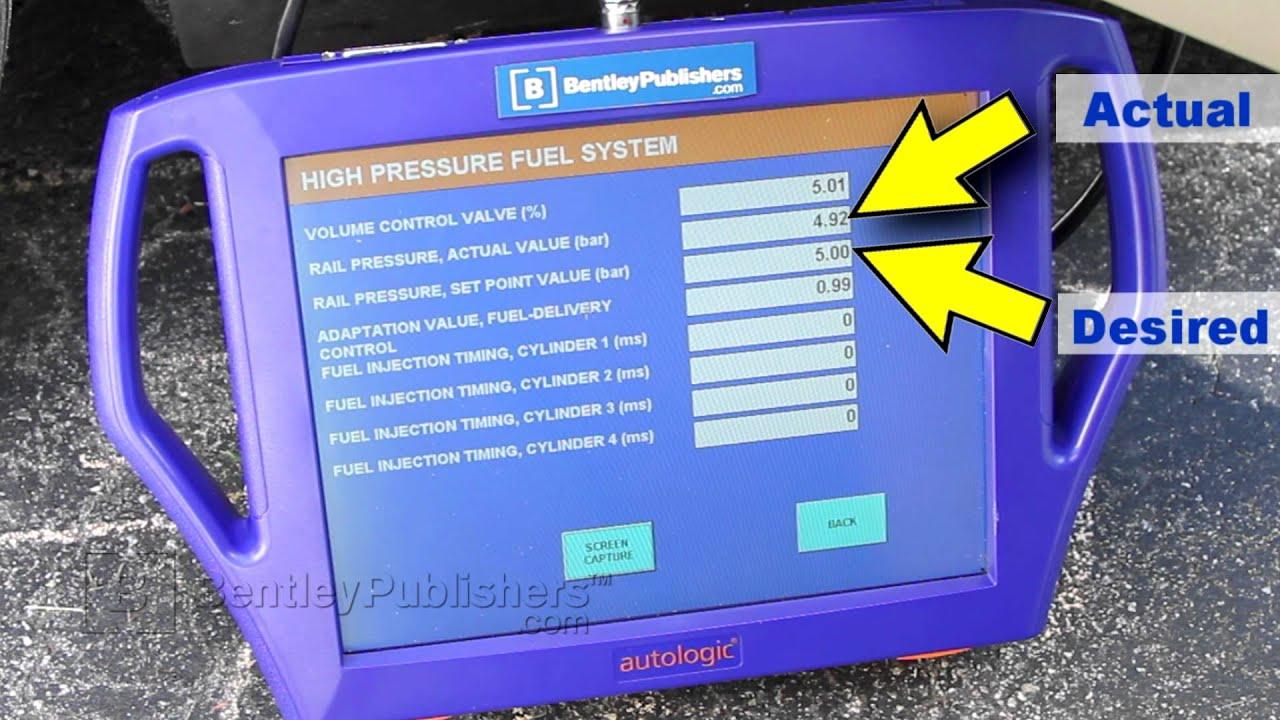 mini cooper s high pressure fuel pump failure symptom and diagnosis diy repair [ 1280 x 720 Pixel ]