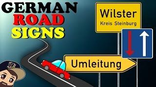 Driving In Germany | Learn German Road Signs - Detour, Entering A Town & More! | VlogDave