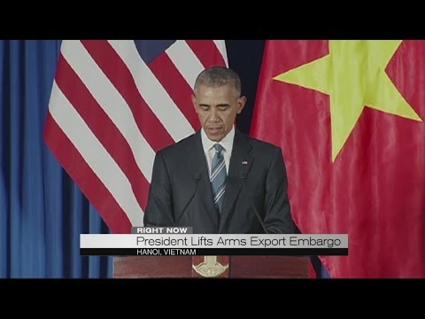 President lifts arms export embargo