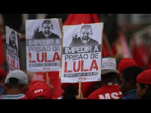 Supporters Rally for Brazil's Former President Lula as he Testifies in Corruption Case