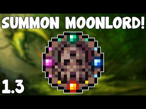 Terraria 1.3 - Celestial Sigil , SUMMON THE MOONLORD! - Terraria 1.3 Guide New Boss Summon