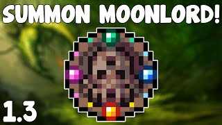 Terraria 1.3 - Celestial Sigil , SUMMON THE MOONLORD! - Terraria 1.3 Guide New Boss Summon